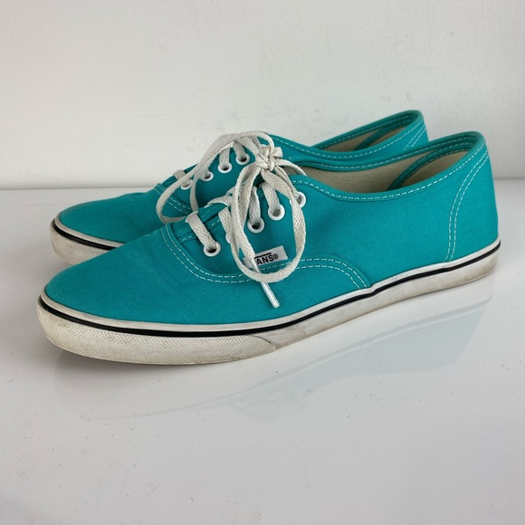 Vans Thin Sole Turquoise Canvas Skate